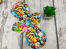 "Load image into Gallery viewer, Super Mario - 11"" Heavy Cloth Menstrual Pad"