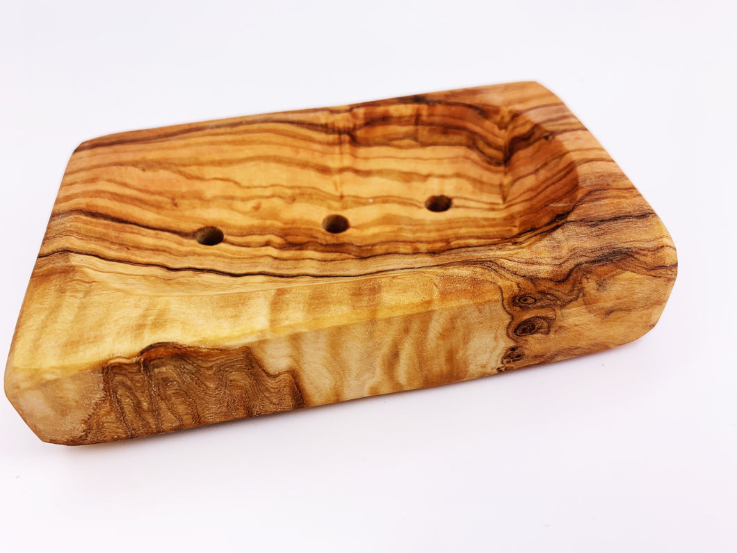 Olive Wood Soap Dish Tray