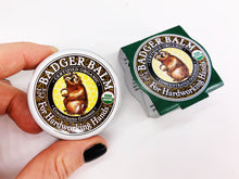 Load image into Gallery viewer, Organic Badger Hand Balm - Concentrated for Hard Working Hands (21g)