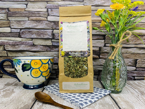 'Digest and Sooth' Herbal Tea Infusion