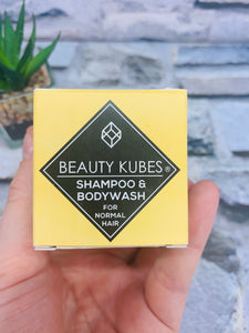 Unisex Shampoo and Body Wash Kubes (Normal Hair)