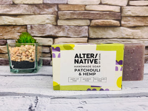 Patchouli and Hemp Natural Soap Bar