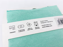 Load image into Gallery viewer, Reusable Sandwich Wrap Roll -Mint/Red/Grey