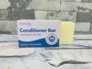 Lavender and Tea Tree Natural Conditioner Bar