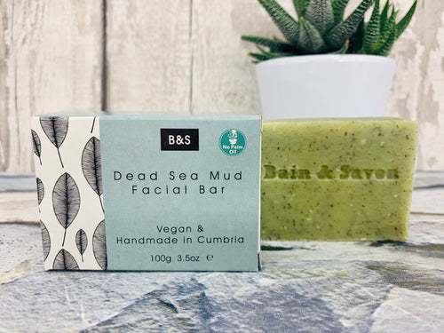 Dead Sea Mud Facial Cleansing Bar (100g)