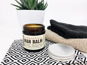 Man Balm - Botanical Herbal Moisturiser (Sandalwood and Orange)