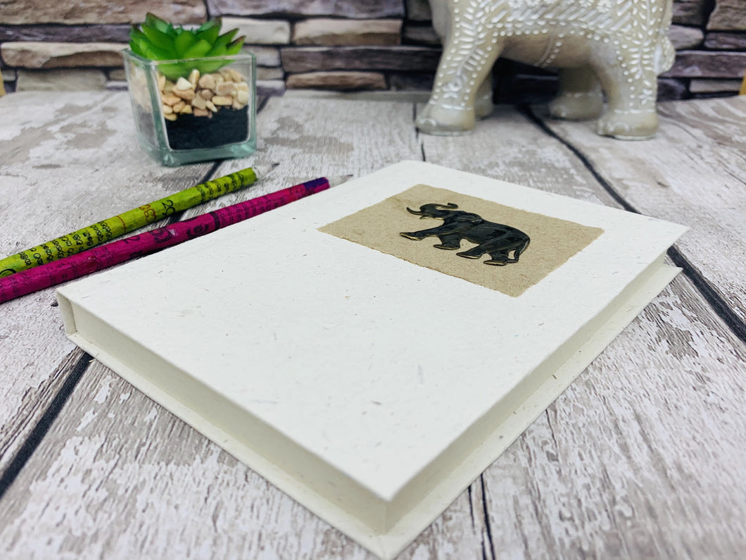 Elephant Dung Note Book - Fair Trade