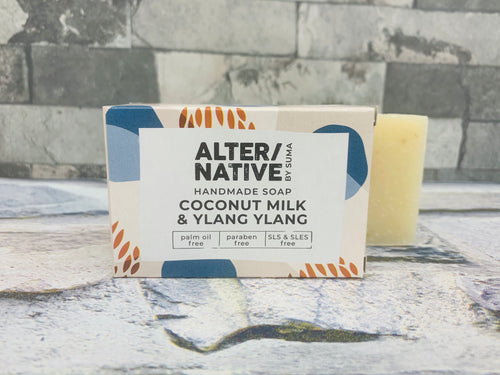 Coconut Milk and Ylang Ylang Natural Soap Bar
