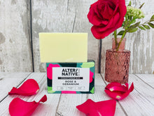 Load image into Gallery viewer, Hair Conditioner Bar - Rose and Geranium