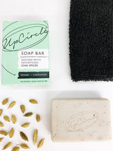 Load image into Gallery viewer, Facial Cleansing Soap Chai Spices - Fennel and Cardamom