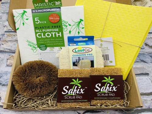 Plastic Free Cleaning Starter Kit - January Bargain Box!