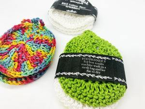 100% Cotton Face Scrubbies