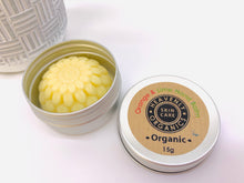 Load image into Gallery viewer, Organic Solid Hand Balm and Tin - Orange and Lime