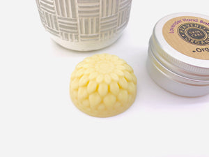 Organic Solid Hand Balm and Tin - Lavender
