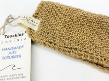 Load image into Gallery viewer, Handmade Organic Jute Scrubber