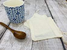 Load image into Gallery viewer, Reusable Organic Tea Bag with Draw String