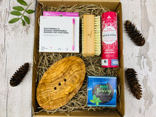 Load image into Gallery viewer, Deluxe Zero Waste Gift Box with Olive Wood Soap Dish