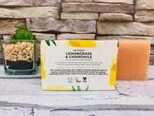 Load image into Gallery viewer, Lemongrass and Chamomile Natural Soap Bar