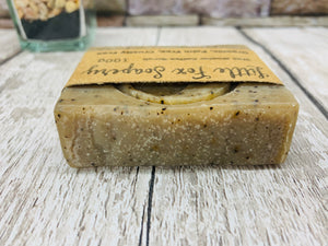 Wee Stoater Coffee Exfoliating Scrub Soap -100g