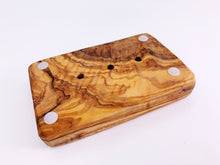 Load image into Gallery viewer, Olive Wood Soap Dish Tray
