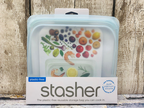 Stasher Reusable Silicone Food Storage Bag - Amethyst