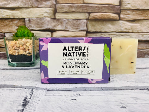 Rosemary and Lavender Natural Soap Bar