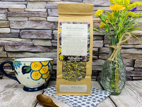 'Relax, Calm and Sleep' Herbal Tea Infusion