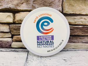 Natural Deodorant Tin - Lavender and Teatree