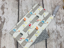 Load image into Gallery viewer, Nappy/Wipe Storage Pouch - Woodland Animal Design