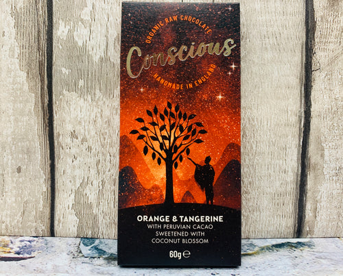 Organic Orange and Tangerine Raw Vegan Chocolate