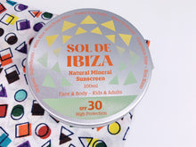 Load image into Gallery viewer, Sol De Ibiza SPF 30 - Vegan Mineral Sunscreen (100ml)