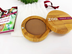Zao Eyebrow Powder with Bamboo Case - Ash Blonde (261)