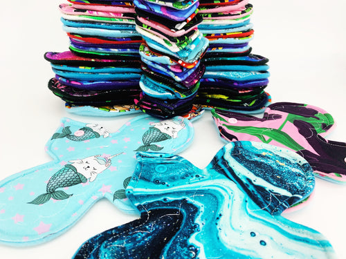 Choose Your Own Cloth Menstrual Pad Starter Bundles (prints vary)