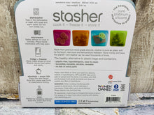 Load image into Gallery viewer, Stasher Reusable Silicone Food Storage Bag - Amethyst