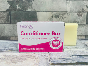 Lavender and Geranium Natural Conditioner Bar
