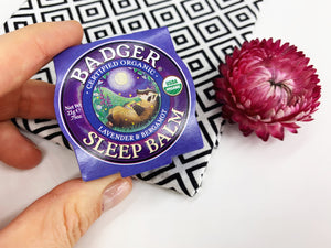 Organic Sleep Balm - Lavender and Bergamot