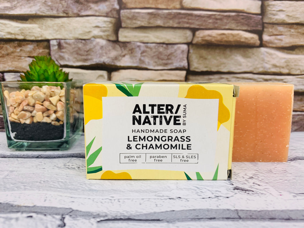 Lemongrass and Chamomile Natural Soap Bar