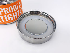 Round Leakproof Stainless Steel Container