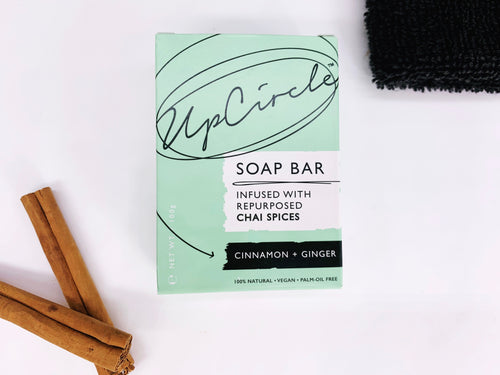 Facial Cleansing Soap Chai Spices - Cinnamon and Ginger
