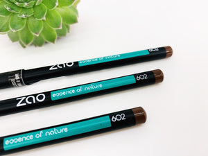 Zao Pencil for Eyes or Lips (Black / Brown)
