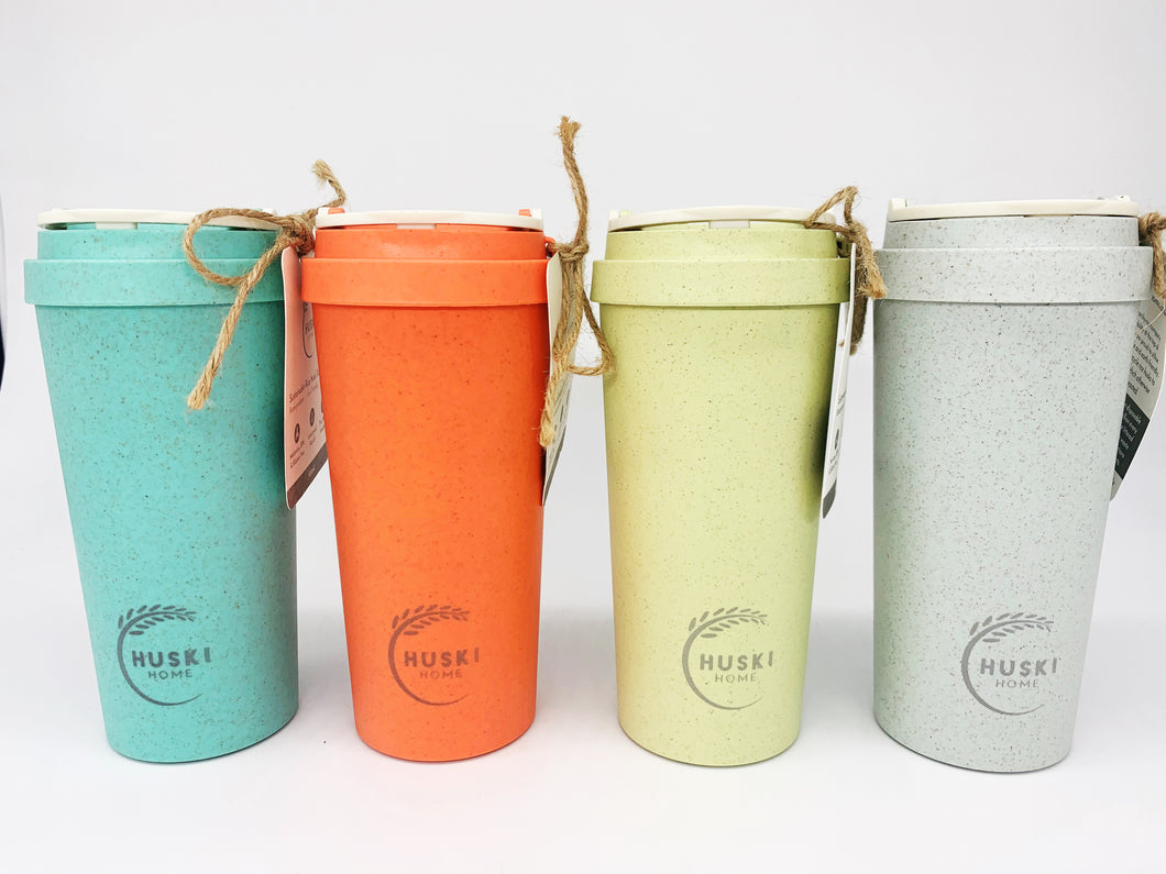 Rice Husk Travel Cup 500ml - Multiple Colours