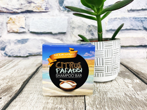 Citrus Paradisi Shampoo Bar - Greasy / Flat Hair