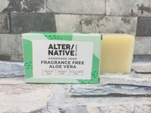 Load image into Gallery viewer, Aloe Vera Natural Soap Bar (Fragrance Free)