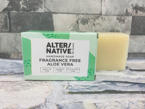 Aloe Vera Natural Soap Bar (Fragrance Free)