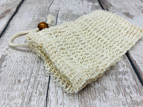Sisal Soap Bag / Pouch