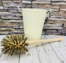 Load image into Gallery viewer, Plastic Free Wooden Toilet Brush (Large)