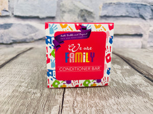 'We are Family' Conditioner Bar