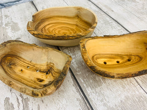 Olive Wood Soap Dish - Large Size