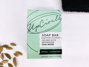 Facial Cleansing Soap Chai Spices - Fennel and Cardamom