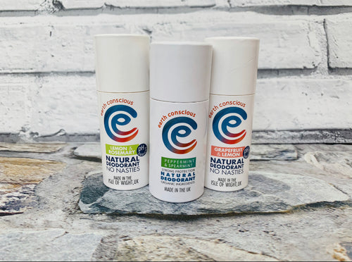 Natural Deodorant - Peppermint (Strong Protection)